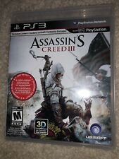 Assassin's Creed III 3 Sony PlayStation 3 Used!