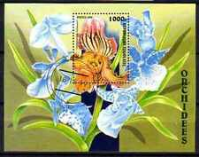 Fleurs -Orchidées Togo (156) bloc oblitéré