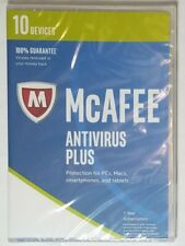 McAFEE ANTIVIRUS PLUS New in box Sealed