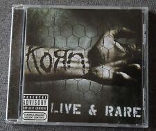 Korn, live & rare, CD