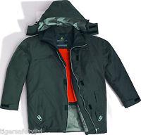 Delta Plus Panoply Duncan Grey Waterproof Mens Outdoor Parka Jacket Rain Coat