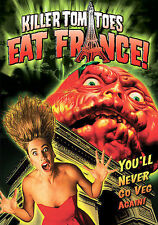 Killer Tomatoes Eat France (DVD, 2005) FREE SHIPPING!!