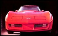 1980 Chevy Corvette ORIGINAL Dealer Brochure, GM NOS Xlnt 80