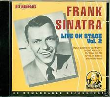 FRANK SINATRA LIVE ON STAGE VOL 2 CD 6636