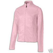 New Balance Womens Breast Cancer Awareness Soccer Full Zip Track Jacket Pink Lrg