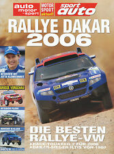 Supplemento Rivista Rally Dakar 2006 VW RACE TOUAREG 2 Iltis 1980 Motorsport