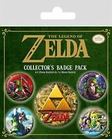 The Legend of Zelda Clásicos Insignia Set - para Juegos Merchandise