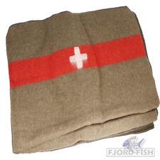 Wolldecke 100% Schafwolle Schweiz Pferdedecke Decke Bundeswehr BW Armee Militär