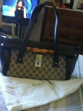 Gucci bauletto vintage bamboo