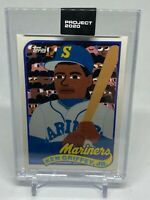 Topps PROJECT 2020 Card 88 - 1989 Ken Griffey Jr. by Keith Shore - MLB LEGEND