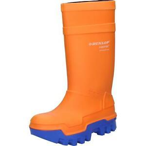 Dunlop Stiefel Purofort Thermo+ orange S5 Gr. 10