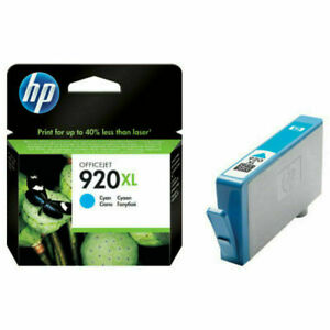 Genuine High Capacity HP 920XL Ink cartridges *CHOOSE YOUR COLOUR*