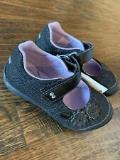 Stride Rite Toddler Girl Size 9 Black Mary Janes Sparkly NWT