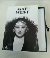 DVD BOX SET - Rare Retro Mae West DVD Box Set Empty Gift Set 3 Draws For 6 DVDs