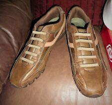 SKECHERS Brown Size 9.5 ACTIVE BIKERS-DREAM COME TRUE  Casual Shoes