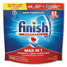 Powerball Max In 1 Dishwasher Tabs, Fresh, 63/Pack