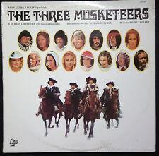 THE THREE MUSKETEERS SOUNDTRACK VINYL LP AUSTRALIA