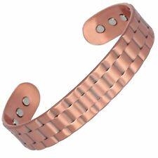 Mens Masculine Magnetic Copper Bangle