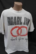 Vintage 1992 90s Pearl Jam don't give up Rock T-Shirt Rock Tee XL