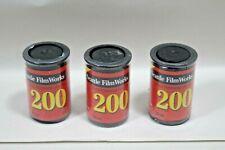 (3) Seattle FilmWorks 200 Film 20 Exposures 35mm (Expired)