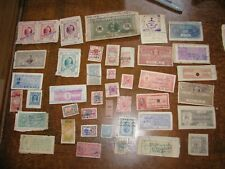 Princely Indian India State Revenue Lot B - 41 Different Stamps - See pics!