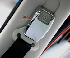 Chrome B pillar Seat safety belt adjust cover trim For jeep Patriot 2007-2017