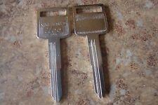 2 Suzuki Motorcycle Key Blanks, GSF Bandit GSX Katana Hayabusa GSXR GZ Intruder