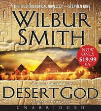 Wilbur Smith DESERT GOD Unabridged CD *NEW* FAST Ship in A BOX !
