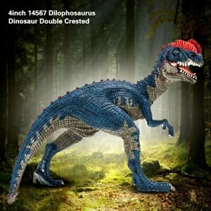 Jurassic Dilophosaurus Spitter Dinosaur Toy Model Action Figure Collector Toy
