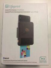 LifePrint Instant Print Camera 2x3 LP003-1 Black  Brand New Sealed