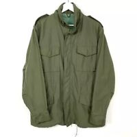 Vintage M-65 Military Olive Green Army Jacket Coat Green Men's Size Large