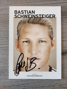 BASTIAN SCHWEINSTEIGER DFB Autogrammkarte WM 2014 EM original signiert Selten