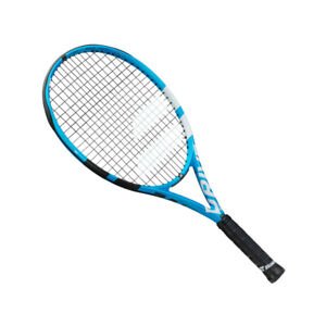 BABOLAT PURE DRIVE JUNIOR TENNIS RACKET JNR 26 INCH, FULL COVER FREE 2019