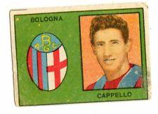 CALCIO  FIGURINA  CALCIATORI   VAV  SERIE I CAPITANI   1950  BOLOGNA  CAPPELLO