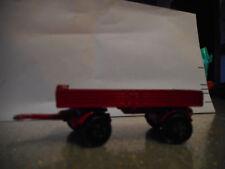 Matchbox vintage Mercedes Trailer - Red  die cast model