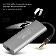 Portable 3.5mm Audio HIFI Headphone Amplifier Stereo Earphone AMP for Smartphone