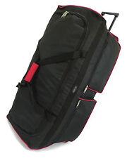 XL Extra Large Travel Luggage Wheeled Holdall Trolley Suitcase Case Duffle Bag