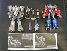 Transformers Prime First Edition - Optimus vs Megatron deluxe pack - Complete