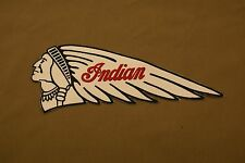 INDIAN MOTORCYCLES NOS GENUINE SCOUT CHIEF FOUR JACKET PATCH FROM GILROY FACTORY