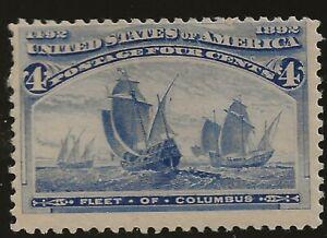 US, SC 233,  4¢ Columbia Exposition, mint