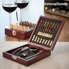 Set de accesorios para vino y ajedrez Innovagoods (37 piezas)