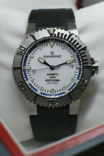 Candino Automatic Diver Professional 300m Swiss ETA 2824-2 Taucheruhr C4262 Saph