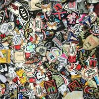 Random Patches 30pcs/lot Girls Kids Iron On For Clothing Applique Sticker Diy