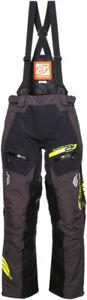 Arctiva Snow Snowmobile VIBE Snowbike Bibs/Pants (Black/Yellow) 34