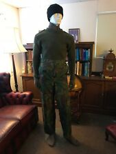 "british army dpm waterproof trousers 90cm 35"" waist marines hunting fishing"
