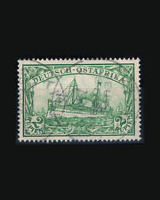 VINTAGE: GERMAN EAST AFRICA 1900 USD LH,,SCOTT #20 $80 LOT #1900X299