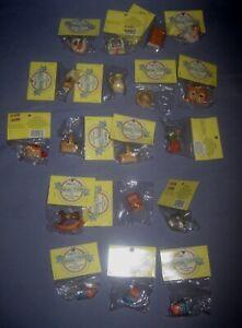 VTG Lot 18 Enesco Teenie Tinies Mini Dollhouse NIP Animals/Rocking Horse/Tray ++