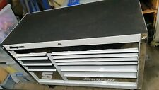 """Snap on 55"""" Roll Cab 11 Drawer Double Bank Clasic Series Roll Cab"""