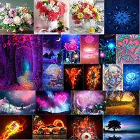 5D DIY Diamond Painting Fantasy Flower Cross Stitch Embroidery Mosaic Home Decor