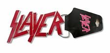 SLAYER RED TEXT LOGO METAL BELT BUCKLE - NEW OFFICIAL BAND MUSIC